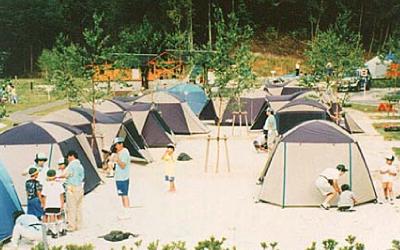 オートキャンプ場4サイト・広場サイト1ヶ所